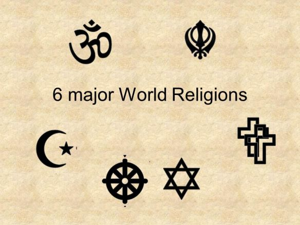 6 major World Religions